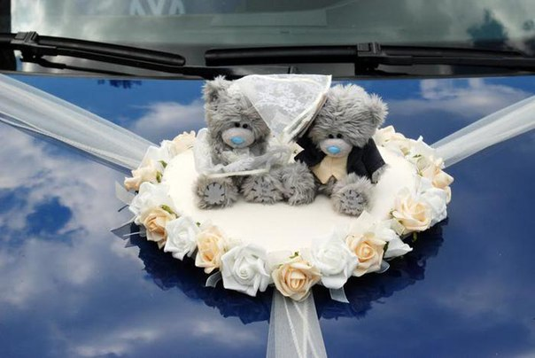 оформление свадебного автомобиля