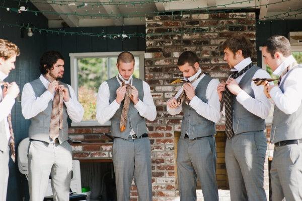 свадебный наряд жениха без пиджака
