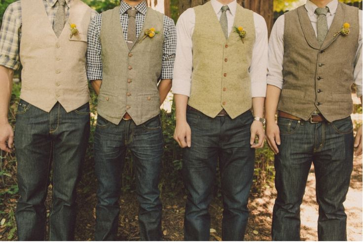костюм жениха без пиджака