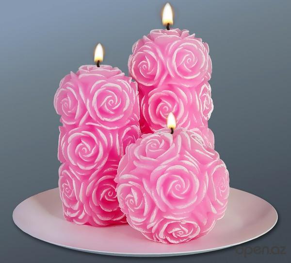 Свечи – доступный и красивый подарок для гостей на свадьбе