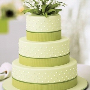 свадебные торты в зеленом цвете