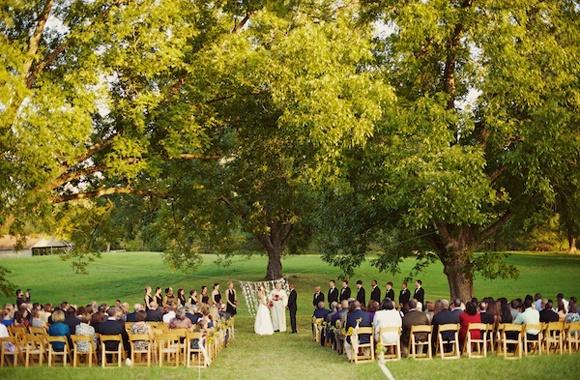 Где отметить свадьбу летом
