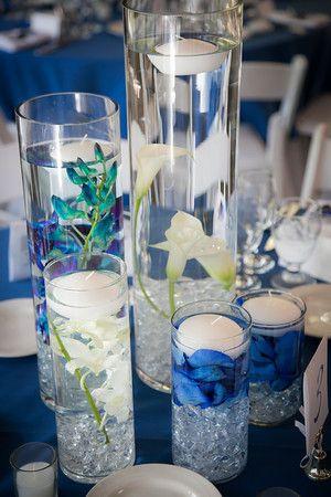 Синяя свадьба летом