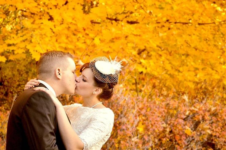 Цвет свадьбы: осень 2014