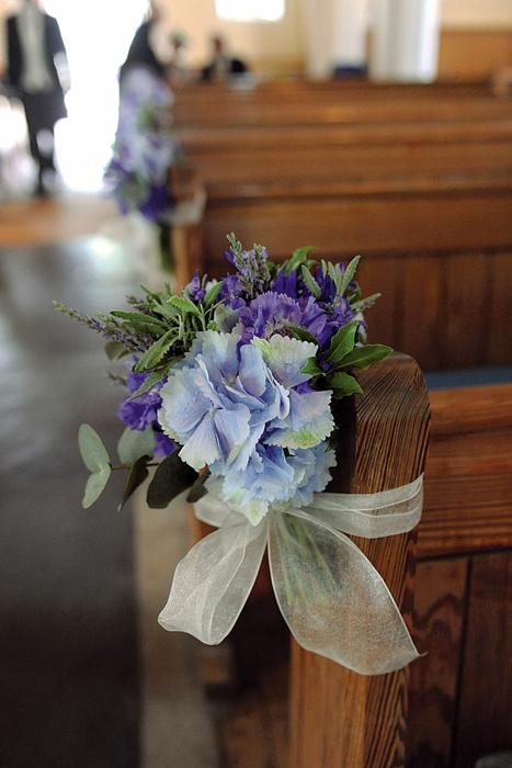 оформление летней свадьбы