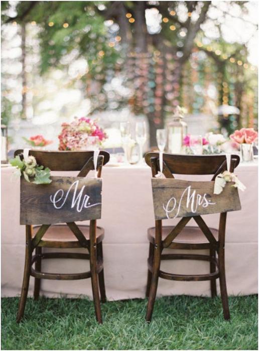 идеи оформления свадьбы летом