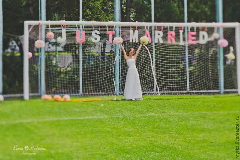 тематика свадьбы летом