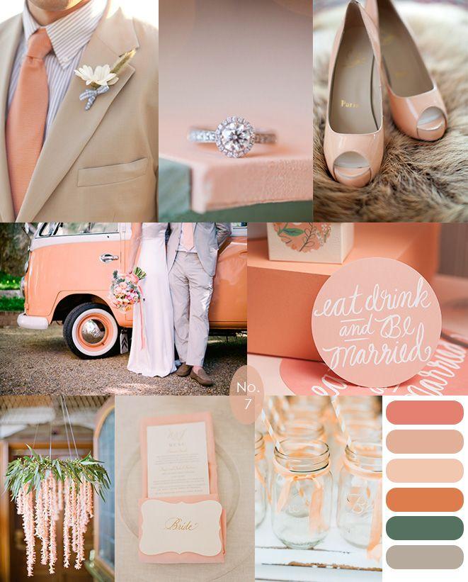 яркая свадьба летом