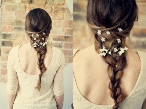 Красивые косы на свадьбу