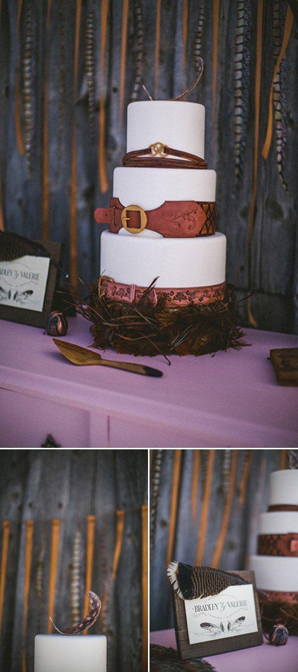 Свадьба в Колорадо: зимний бохо шик