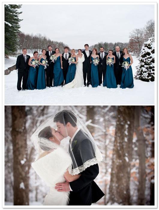 Свадебные тренды: зима 2015