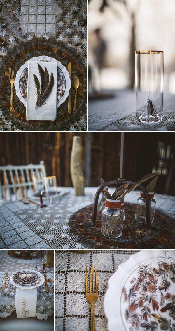 Зимняя свадьба в стиле Бохо