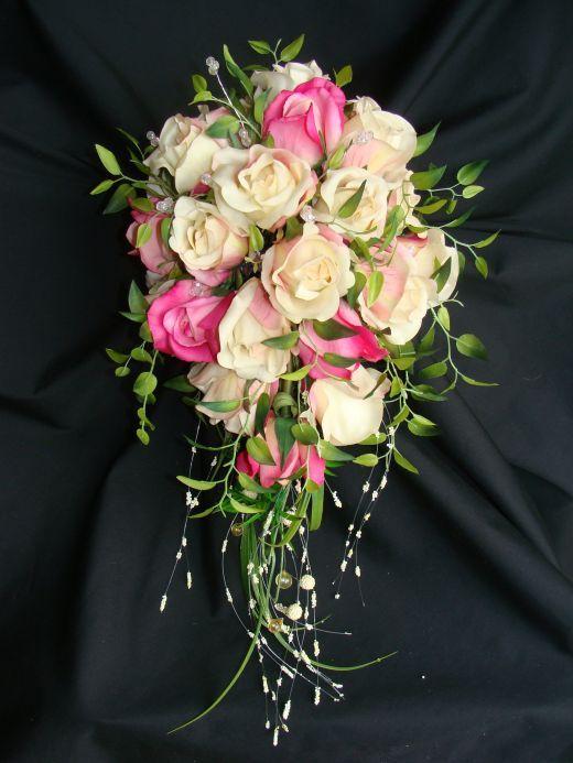 каскадный букет невесты