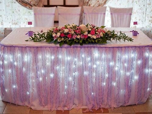 декор столов на свадьбу