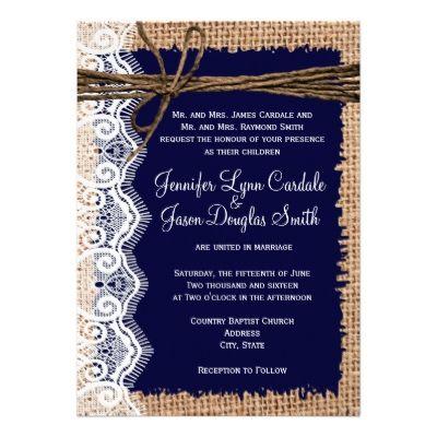 пригласительные на свадьбу синие
