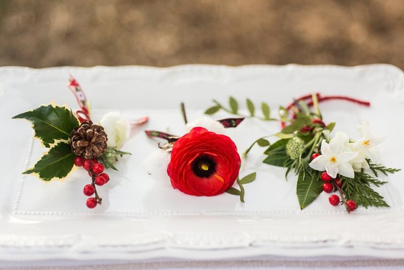 Зимняя свадьба в шведском стиле