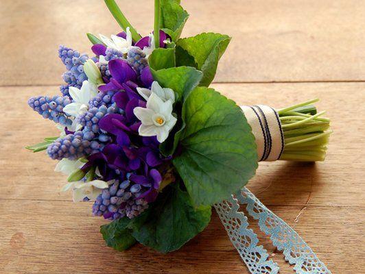 Букет невесты для весенней свадьбы