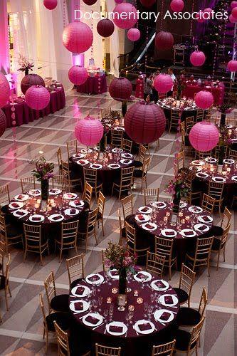 Бордово-золотая свадьба