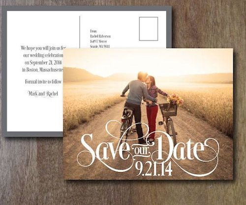 Save the date – предварительные приглашения на свадьбу