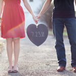 Save the date - предварительные приглашения на свадьбу