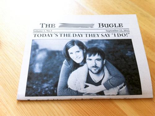 шаблон для свадебной газеты история знакомства