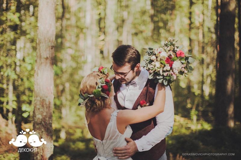 """Летняя свадьба """"В гостях у таинственного леса"""""""