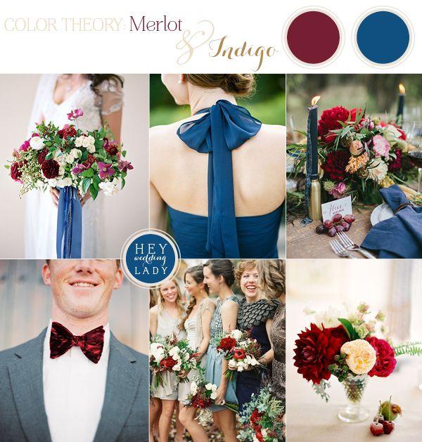 Свадьба в цвете лазурь и красный фото