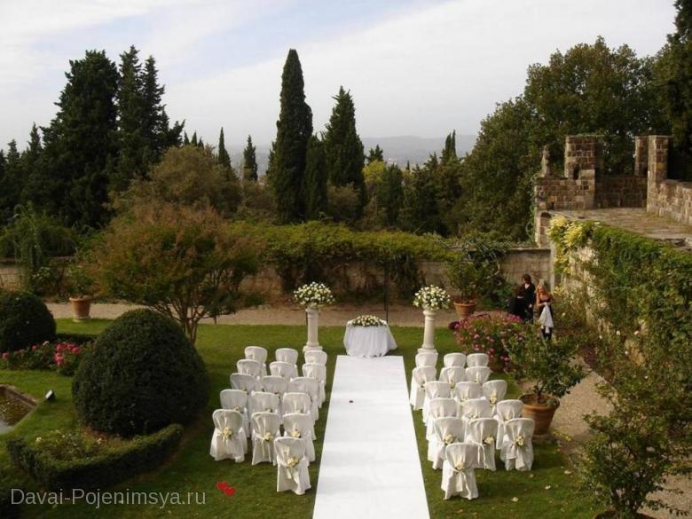 Необычные места для свадьбы