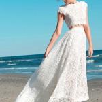 Свадебные платья с отрезным верхом