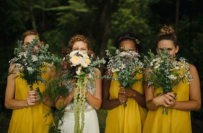 Свадьба в горчичном цвете