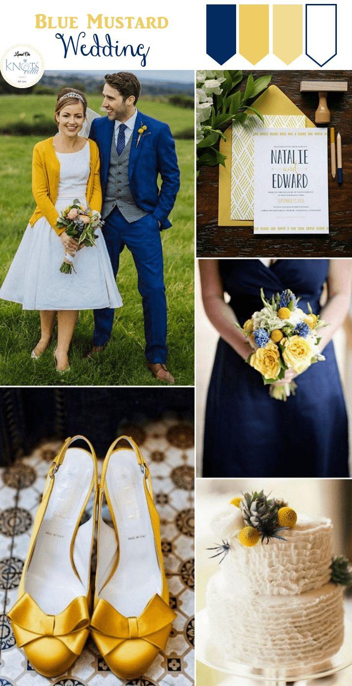 Свадебные цветовые палитры с горчичным цветом