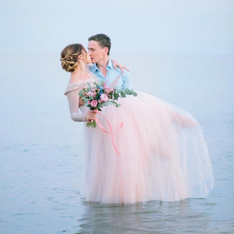 yЕстественность – свадебный тренд №1