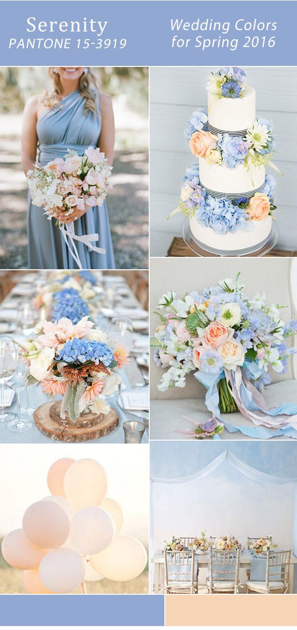 Цвет свадьбы: весна 2016