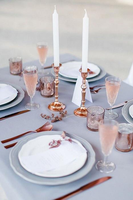 Цвет свадьбы 2016: розовый кварц и безмятежность