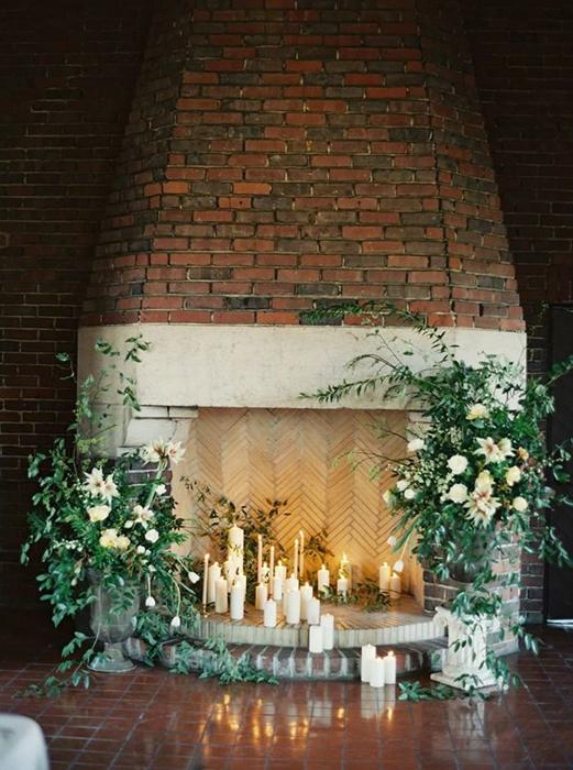 Свадьба у камина