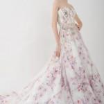 Свадебные платья с цветочным принтом