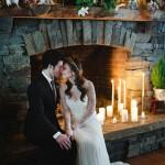 Зимняя фотозона на свадьбу