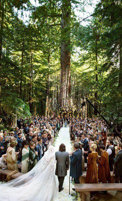 Свадьба в стиле Властелина Колец
