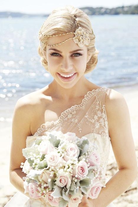 Аксессуары для прически невесты 2016