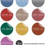 Цвет свадьбы: осень-зима 2016