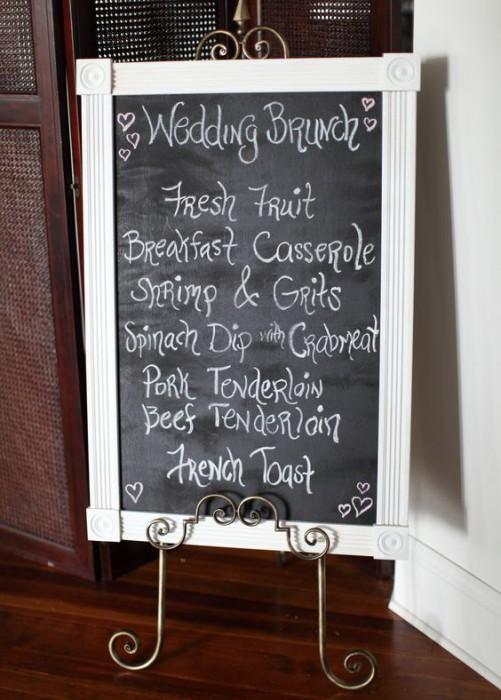 Бранч – новый вид свадебного фуршета