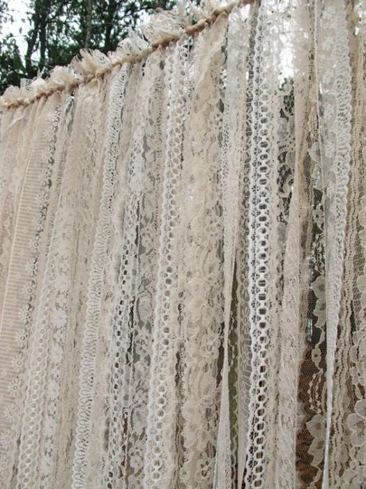Свадебная арка из лент