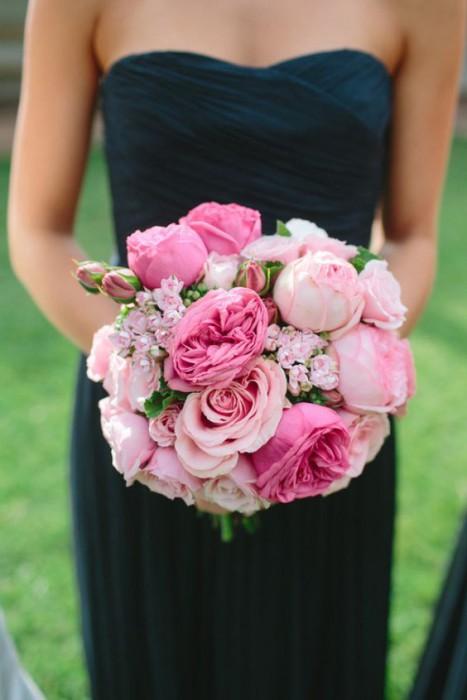 Цвет свадьбы: синий и розовый