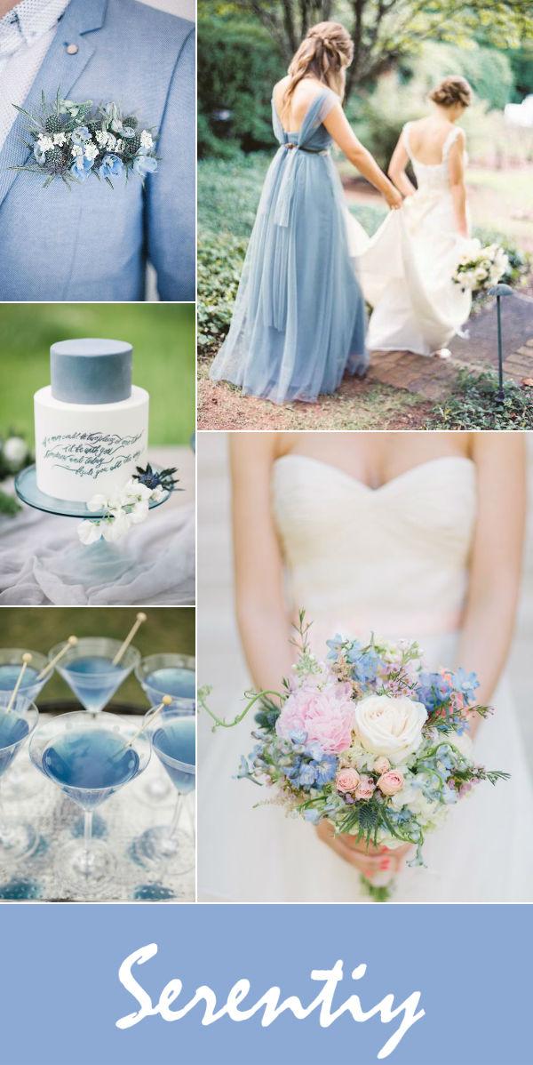 10 оттенков синего для вашей свадьбы