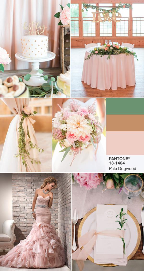 Цвет свадьбы: весна-лето 2017