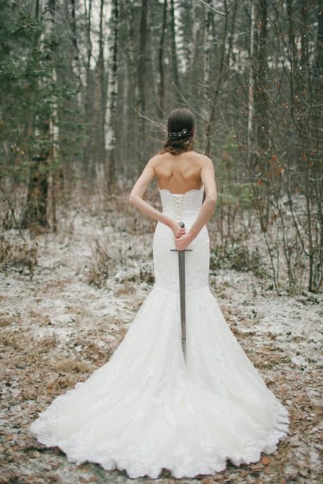 """Зимняя свадьба в стиле """"Игры престолов"""""""
