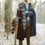 Зимняя свадьба в стиле Игры престолов