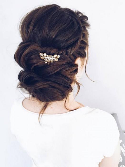 Свадебные прически 2017 для длинных волос