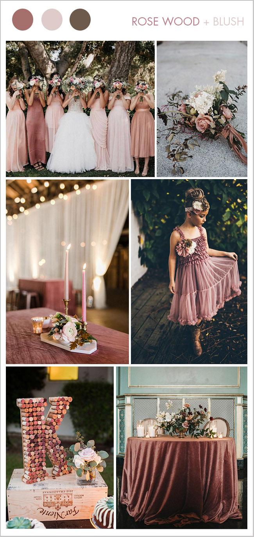 8 красивых палитр для свадьбы 2018