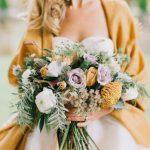 Горчично-желтый цвет для осенней свадьбы